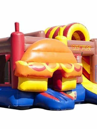 hotdog jumping castle combo