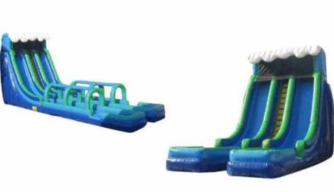 20 feet inflatable slip and slide water slide