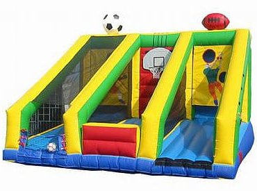 3 N 1 Inflatable Sports Game