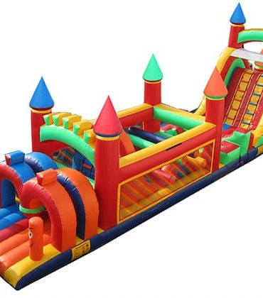 60 Feet Castle Obstacle Course