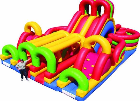 Adrenaline Maze inflatable Assault Course