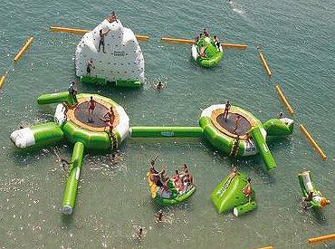 Aviva Water Park Inflatable