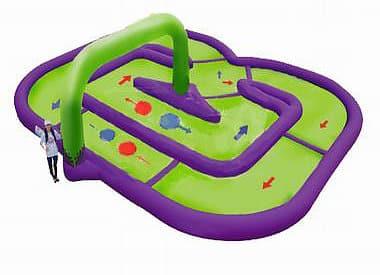 Inflatable Ball Racing