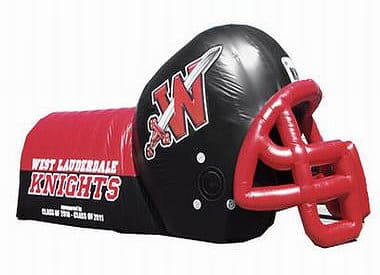 Inflatable Football Helmet Tunnel