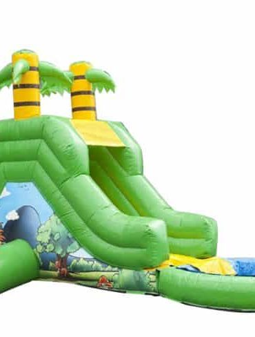 Inflatable Jungle Slide