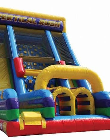 Vertical Rush Slide inflatable Game
