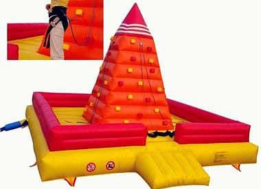 Inflatable Wall Climb