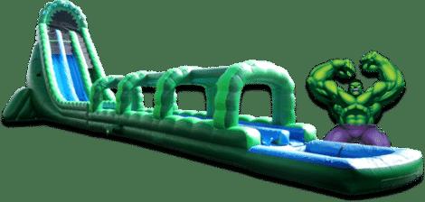 Inflatable Water Slide Hulk