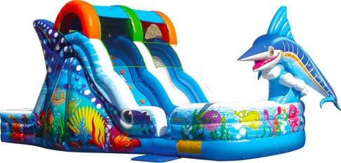 Marlin Splash Ocean Wave Slide