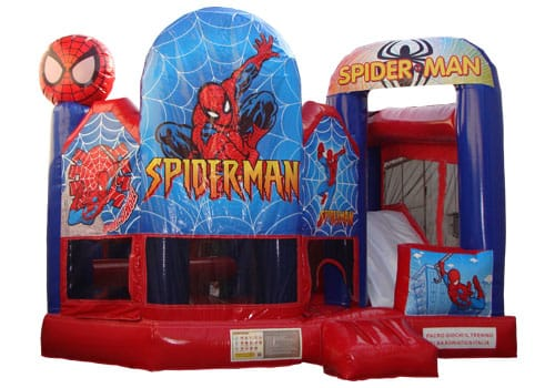 Spider Man 5 in 1 Jumping Castle Combo