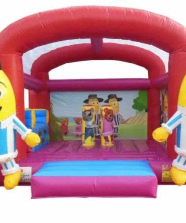 bananas in pj bouncy castle