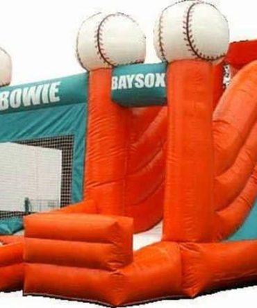 Base Ball bounce house Combo