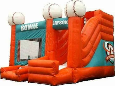 Base Ball bounce house Combo