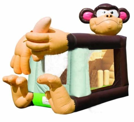 Big Foot Monkey Jumping Castle