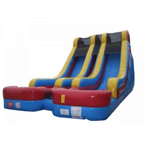 18 Feet Double Bay Dry/Wet Slide
