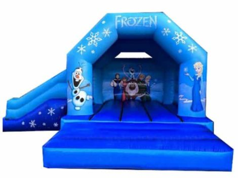 Frozen Jumping Castle Combo