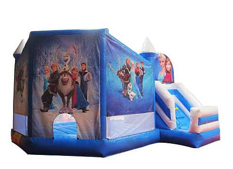 New Frozen Jumping Castle Combo bounce