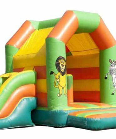 Cute Jungle Combo bouncy castle