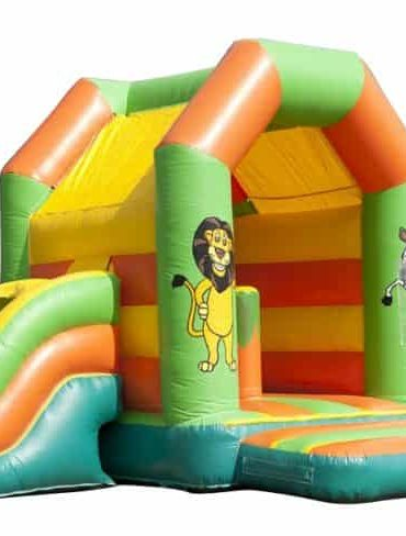 Cute Jungle Combo bouncy castle