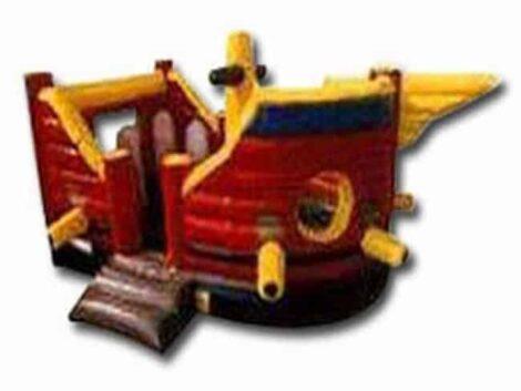 Pirate Ship Bouncy Castle