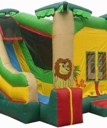 Safari Jungle Combo Bounce House