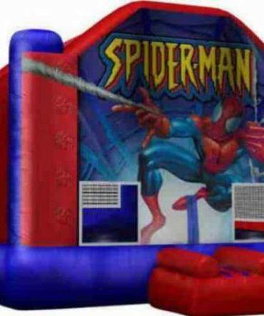 spider man jumping castle
