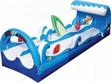 surf the wave Inflatable slip and slide water slide