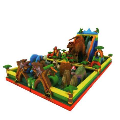 Dinasour park jumping castle combo
