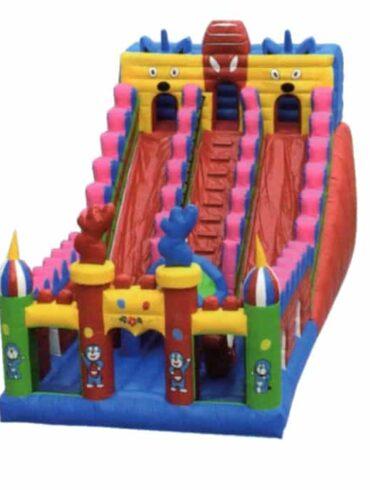 Daemon inflatable slide