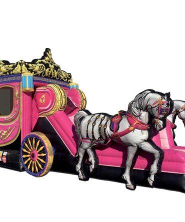 princess horse carriage