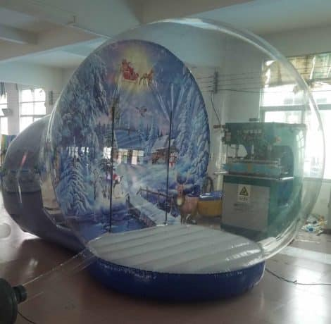 snow globe inflatable photo booth for sale